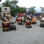 夏越祭り 太鼓の奉奏(行橋飛龍八幡太鼓)