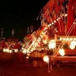 祭り初日第3土曜日の夜の写真