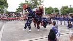 上伊田西の獅子舞