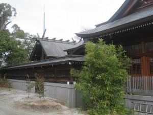 神明作り‐御神殿