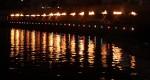 水面石炭篝火